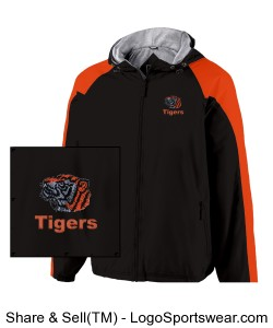 The Homefield by Holloway Lightweight Adult Sideline Jacket Design Zoom